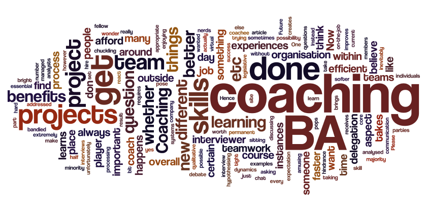 When does coaching become detrimental to project succes