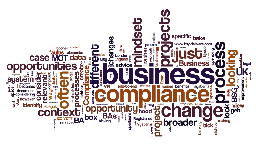Why bother with BAs on a compliance project